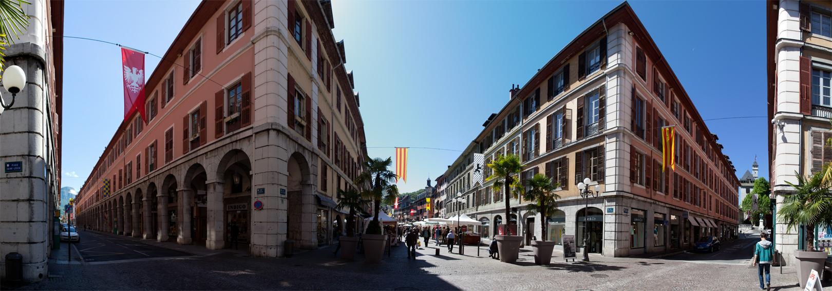 09 Rue de Boigne et place Saint-Léger Chambéry