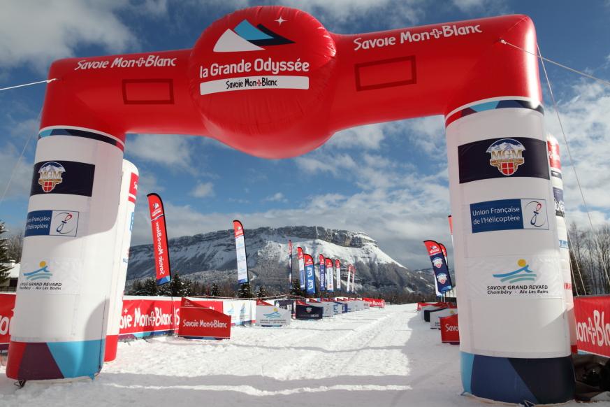 01 La Grande Odyssée  Savoie Mont-Blanc 2014