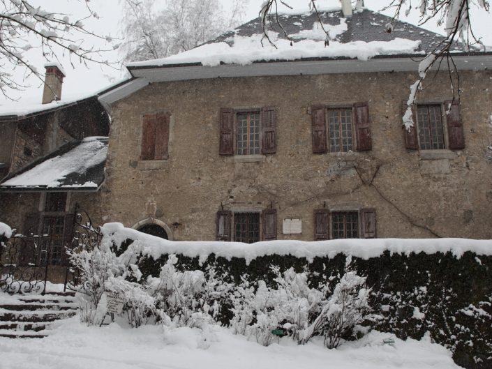 Tempête de Neige aux Charmettes - Chambéry
