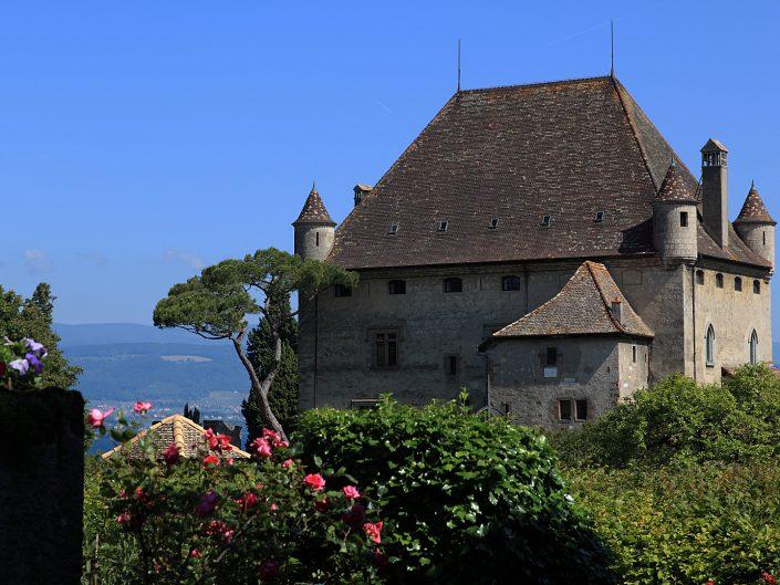 Jardins des Cinq Sens – Village Médiéval d'Yvoire – Lac Léman