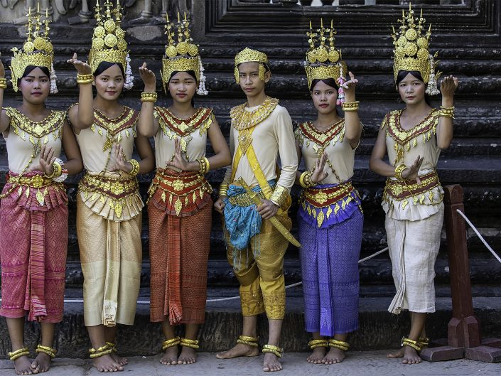 Portraits du Cambodge