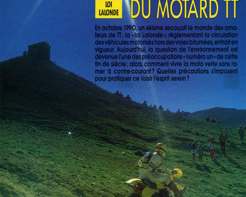Moto Magazine été 1992